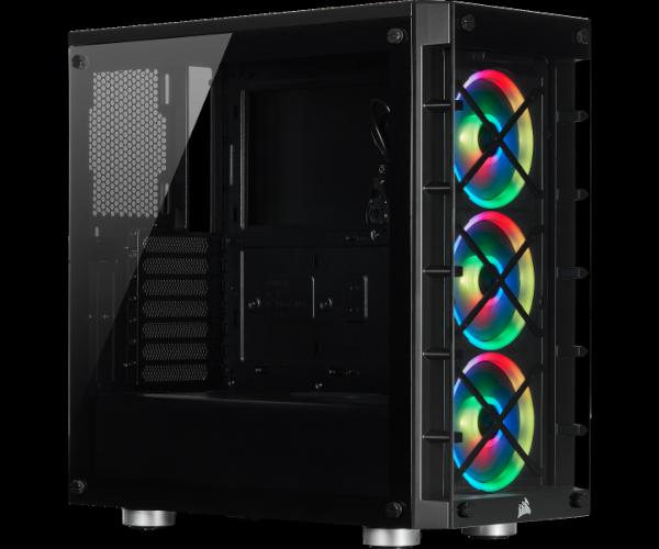 Corsair iCue 465X RGB Mid Tower Black