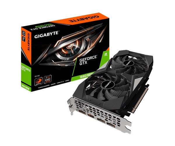 gigabyte gtx1660 super GV-N166SOC-6GD