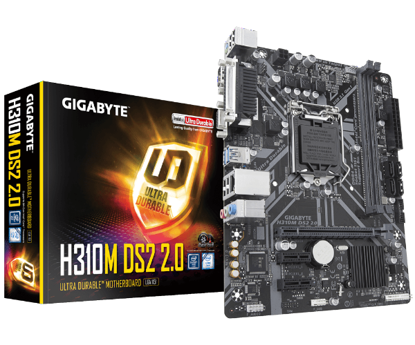 Gigabyte H310M DS2 Rev2.0