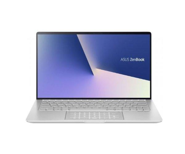 ASUS ZenBook silver