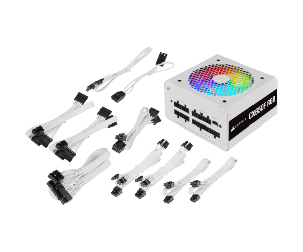 Corsair CX650F RGB WHITE