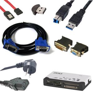 אביזרים, כבלים ומתאמים