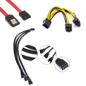 כבלים ומתאמים לבניית מחשב
