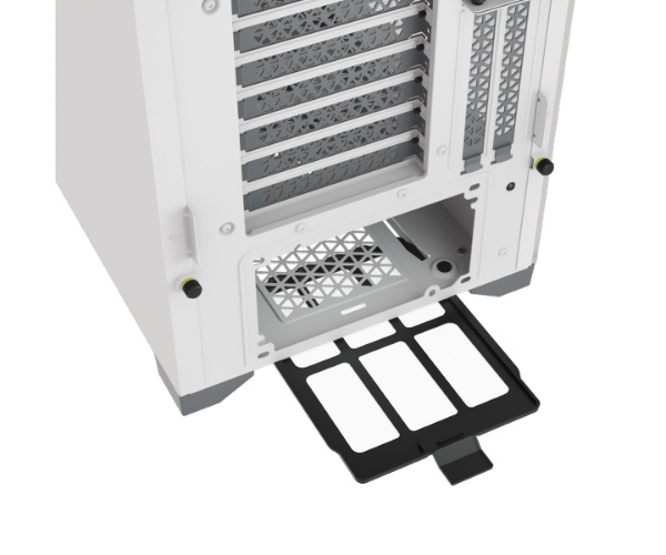 CORSAIR 5000D Tempered Glass Mid Tower ATX PC CASE WHITE